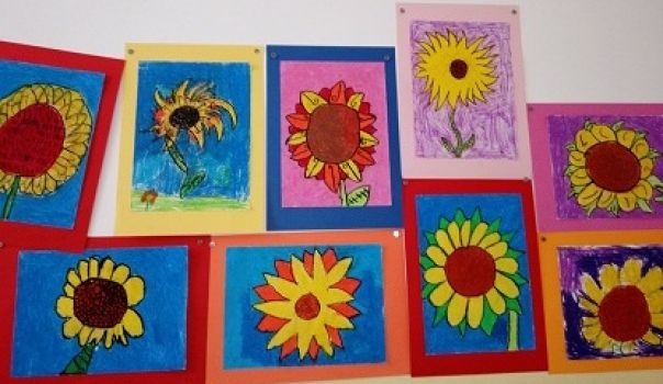 Sunflowers _ Cl. 2A Miola